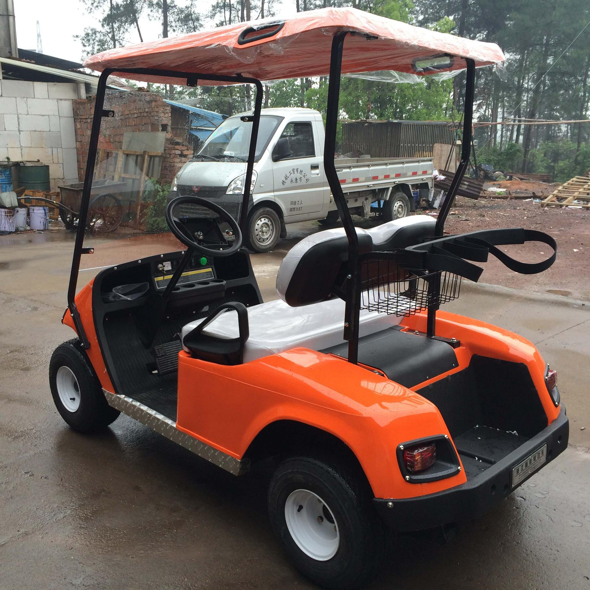 folding go used electric utility vintage golf carts