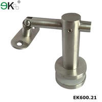 Stainless steel glass handrail post mounting fence bracket