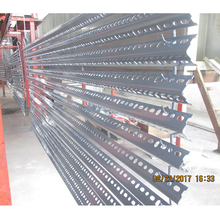 Powder coated Slotted Angle racking iron rack