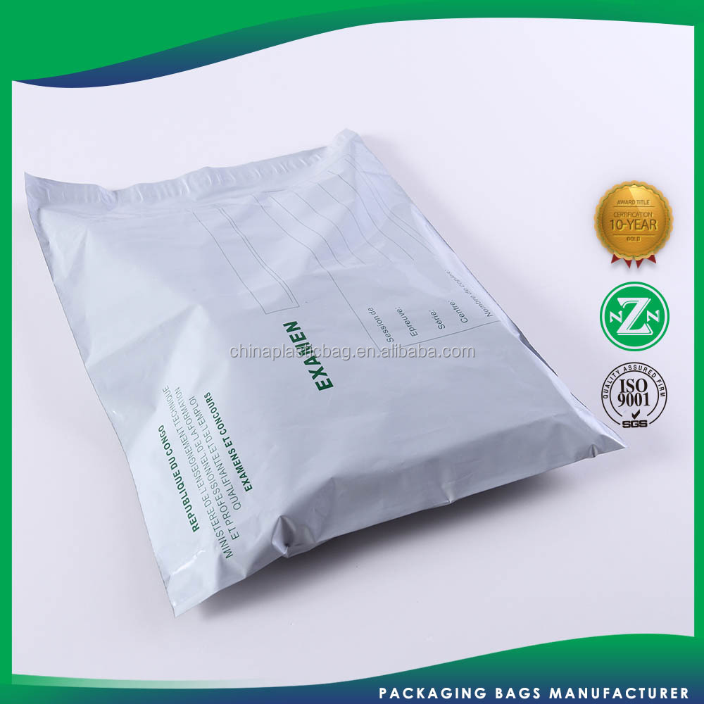 Custom Printed Poly Mailer Biodegradable Shipping Packing White Plastic Envelope Bag