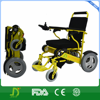 power electric folding portable wheel chair for disabled