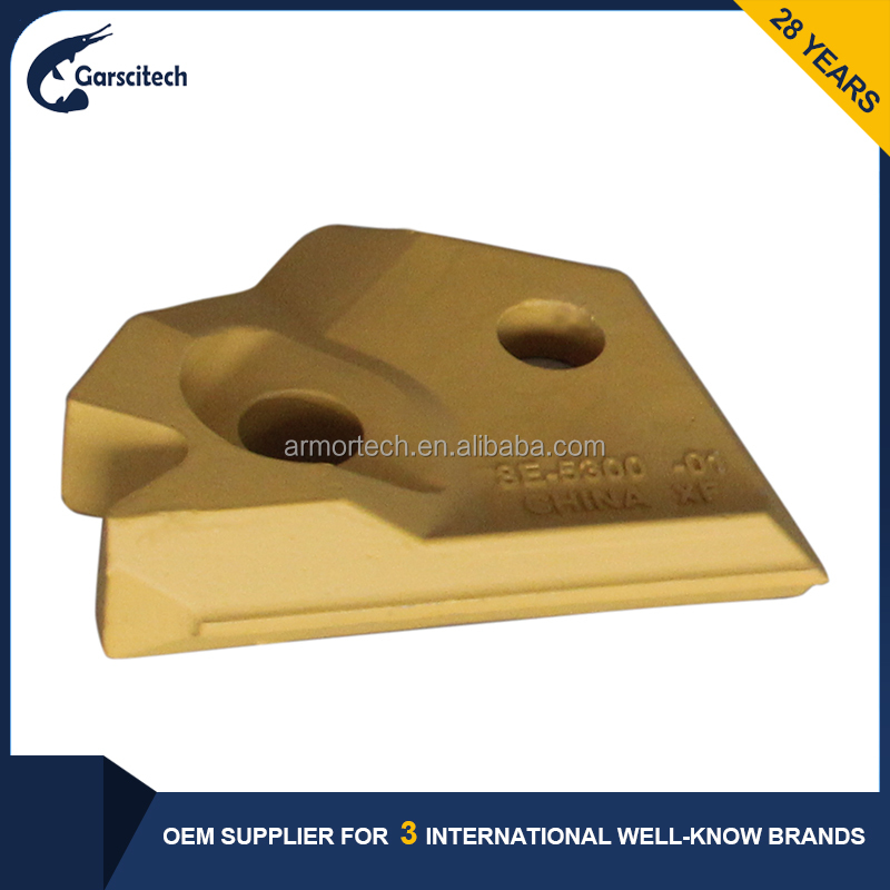 OEM Parts High Wear Resistance Excavator Bucket Side Cutter For Caterpillar Excavator