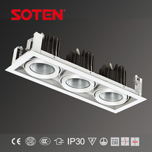 220-242v shop light led grille light lamp body