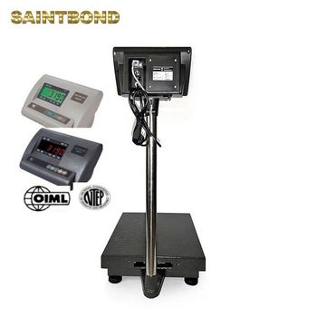 Long lifetime wide scale extra large platform weight scale 2ton platform weighing scales