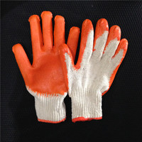 rubber hand gloves, rubber work gloves,rubber palm glove