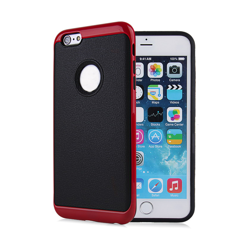 2 in 1 PC TPU Hard Bumper Shockproof Back Cover Protector for Mobile Phone