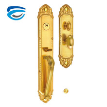 Entrance Keyed Entry Satin Chrome Commercial Door Handle Lock Grade 2 Lever