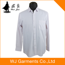 100% cotton wedding dress shirt cutaway collar dress shirt