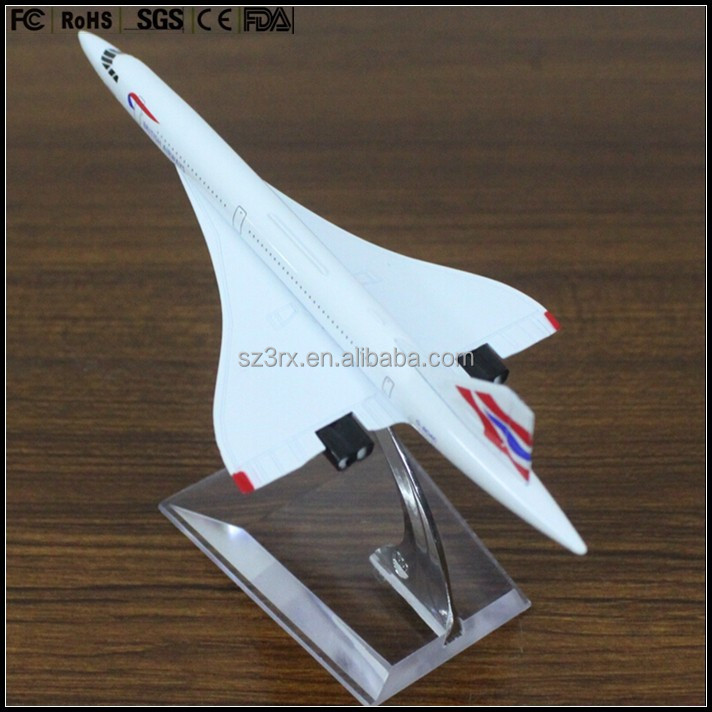 custom made 1/200 Concorde airplane model,resin 1/200 Concorde model,Concorde plane model