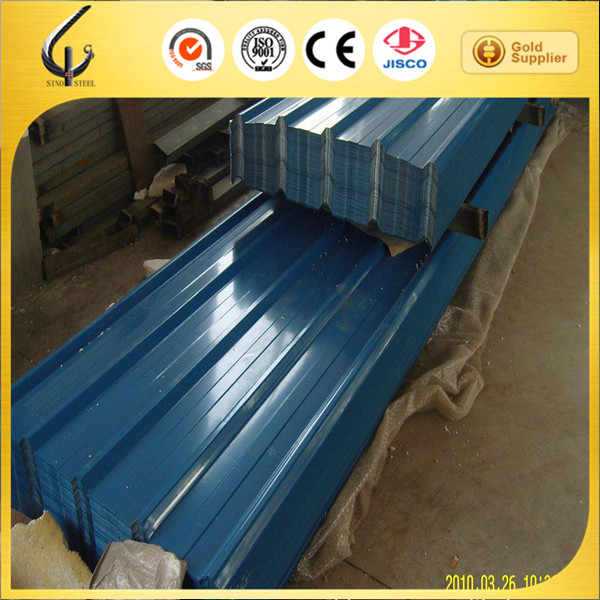 910mm color galvanized ppgi corrugated steel roof/wall plate