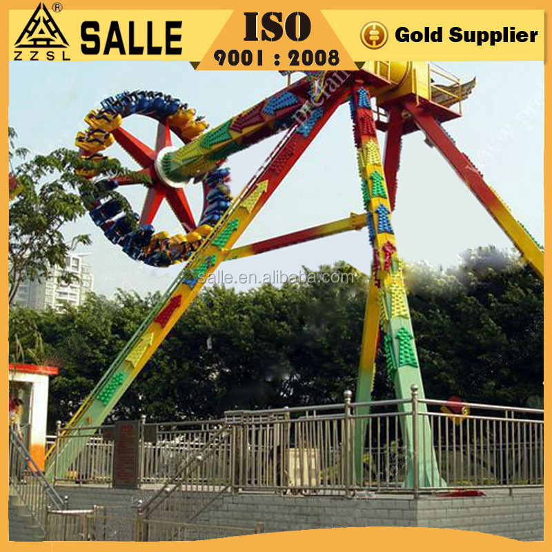 Popular Commercial Used Indoor & Outdoor Playground Amusement Swing Rides Crazy Park Adults Pendulum Thrill Pendulum Rides