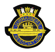 navy vessel pattern badge embroidery