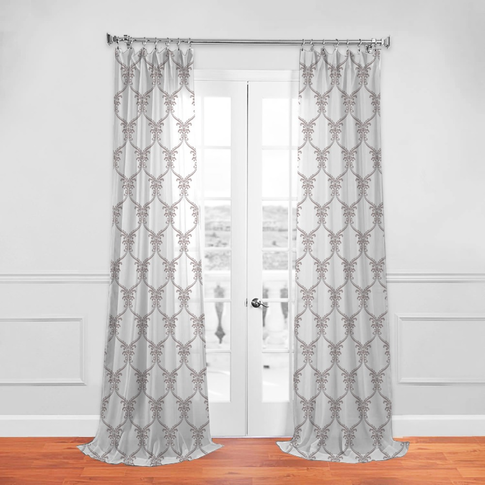 China Manufacturer Hot Sale Hotel and Home Embroidery Window Curtain Fabric