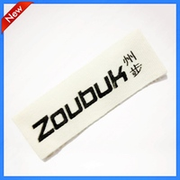 Custom Cotton Brand Clothing Printing Tag Labels