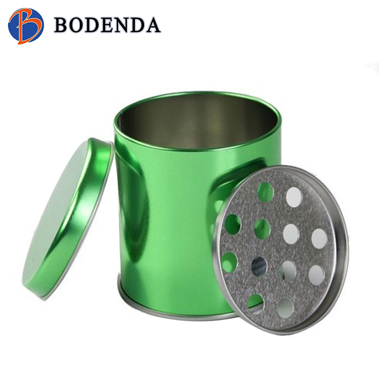 hot sale metal tinplate portable ashtray