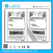 Self-adhesive shipping address label