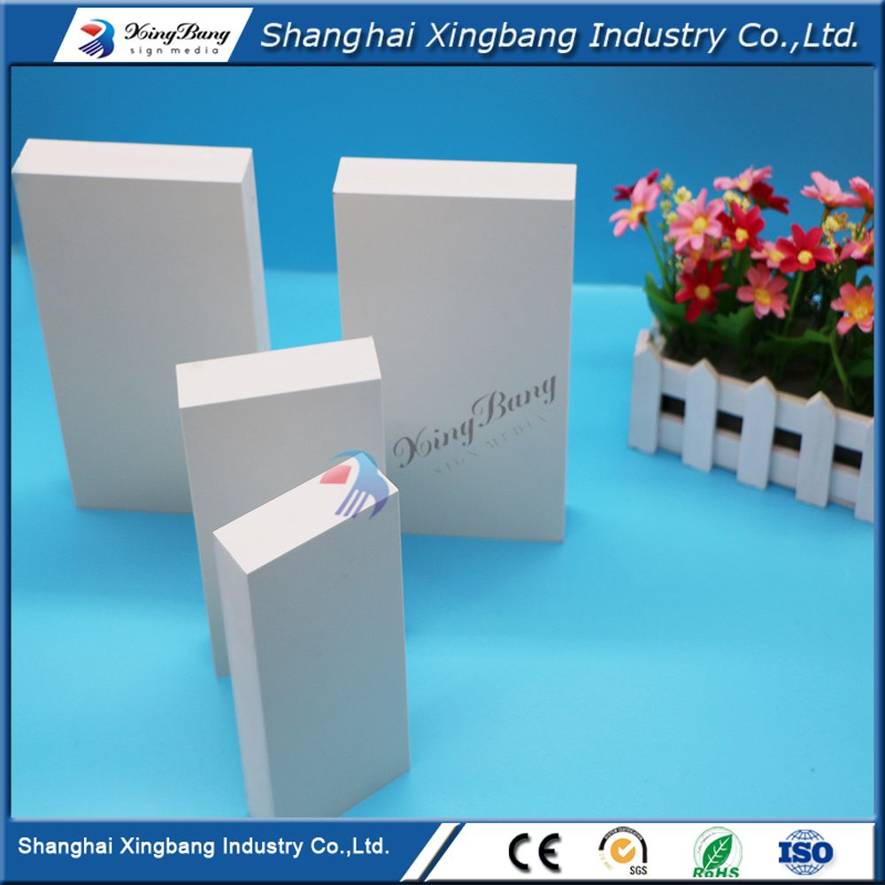 pvc forex foam cutting board for panel door cabinets