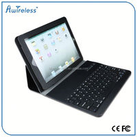 BQB certificated 360 degree rotatable wireless bluetooth keyboard for ipad air 2