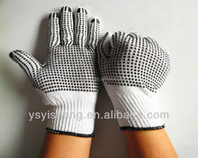 PVC Dotted Cotton Gloves for Industrial Use