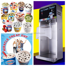 CE ISO certification blizzard ice cream making machine with best price