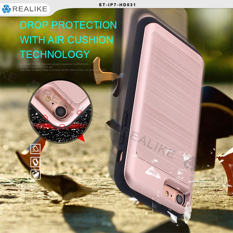 Armor shockproof tpu + pc design for lg <strong>k10</strong> back cover case