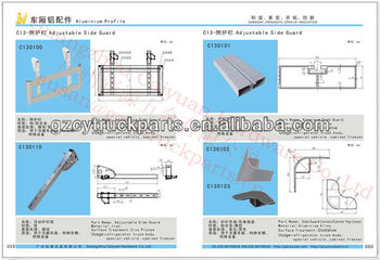 Truck side guard bracket,truck parts