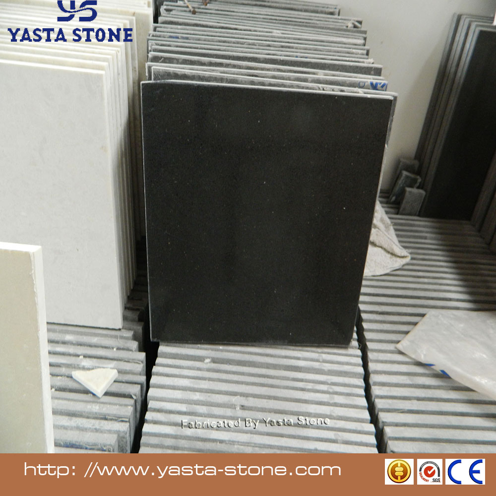Yasta Cheap black quartz wall tile sparkle quartz floor tile wholesale