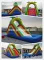 Giant splash Inflatable water Slide