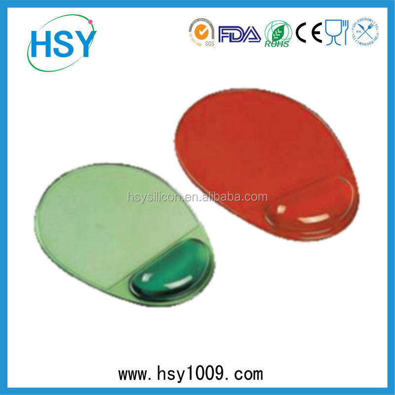 silicone rubber material gel wrist support mouse pad