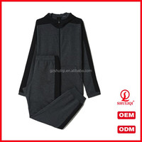custom men sportwear tracksuit wholesale men's hooded jogger gym athletic track suit factory price