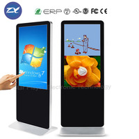 hot selling shopping mall advertising touch screen kiosk / LCD advertising player