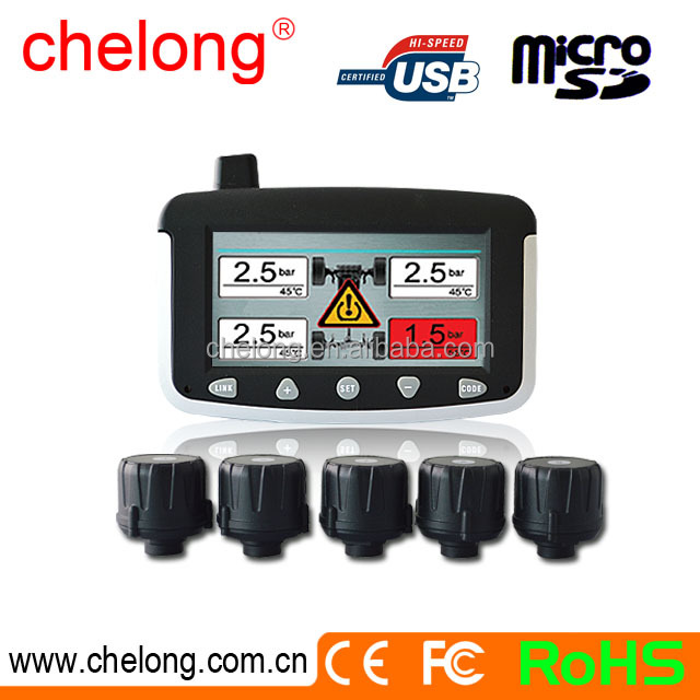 factory sale bus truck tpms tire pressure system with monitor