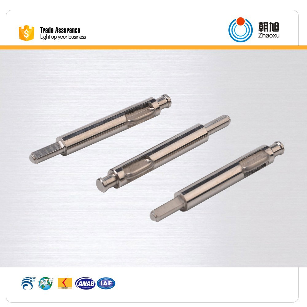 ISO factory CNC machining hex shaft for industry