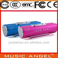 Music Angel heart-shaped TF USB best vibration resonance speaker