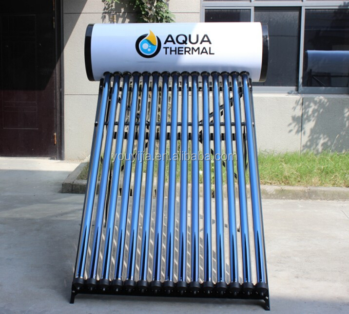 Colour Steel Heat Pipe Solar Water Heater (150L)