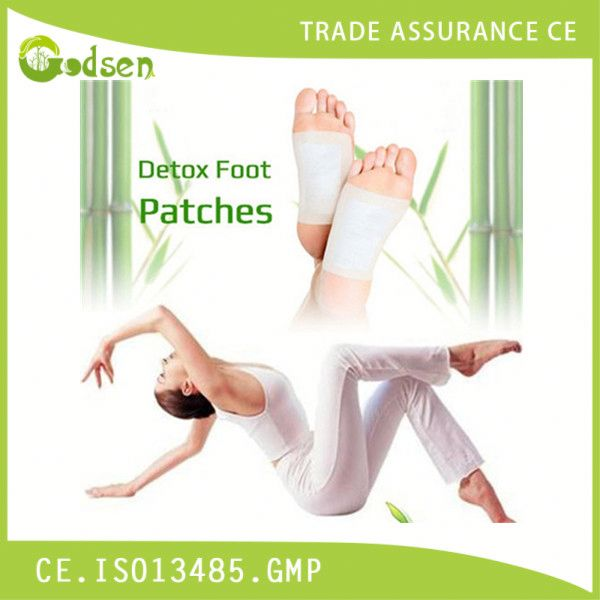 Original Bamboo Foot Patch, Detox Pads/ Slimming Gold Detox Foot Patch