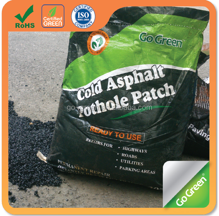 Asphalt factory high performance driveway patch premix cold asphalt
