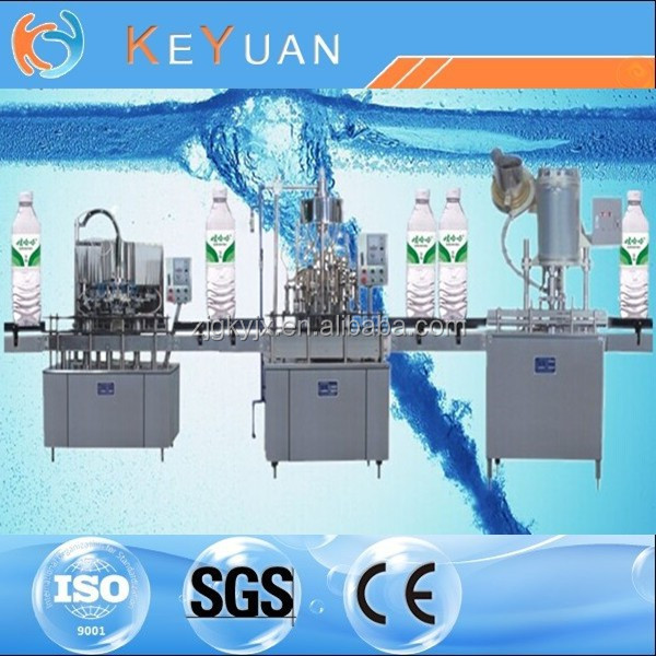 beverage making machine/automatic 3-in1 mineral/pure water filling machine