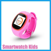 Smart Watch Kids GPS Tracking Watch with Blue Pink Color, LBS GPS Tracking Device Kids