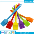 factory price popular Heat resistant BBQ baking silicone cooking oil bottle brush