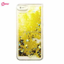Hot-selling Mobile Phone Accessories Liquid Glitter Star Case for smartphone