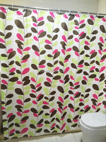 Waterproof Polyester Printed Shower Curtain