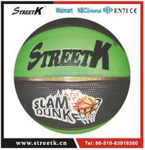 Deep Channel Rubber Basketball/Emboss Logo Basketball/Good Design