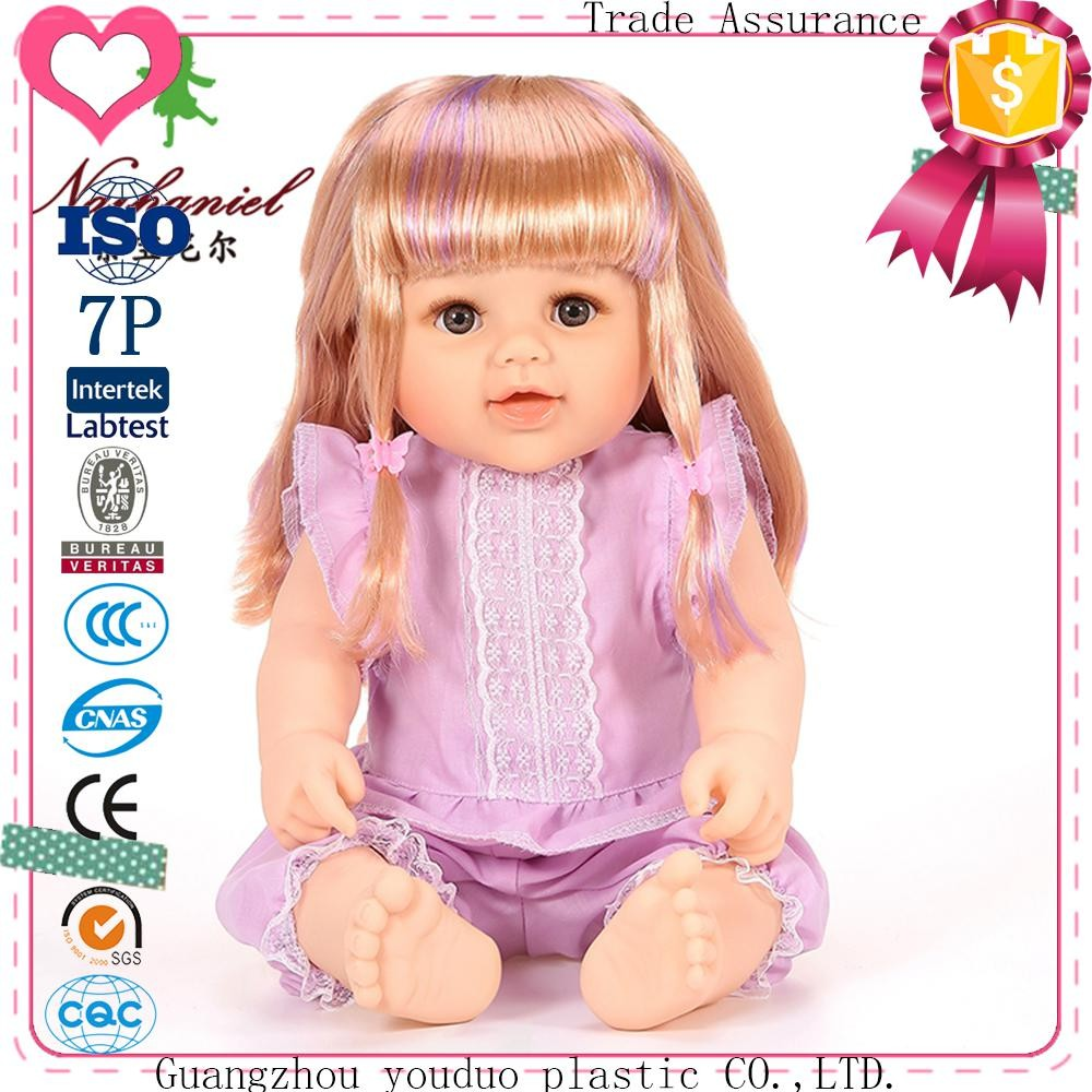 Hot Product Small Modern Plastic American Beautiful Girl Dolls For Crafts