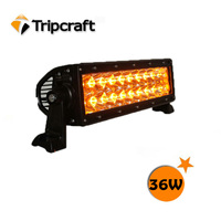 7.5inch 36w amber LED Emergency Light Bar / LED Warning Strobe Light / security car