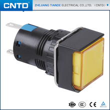 CNTD New Products On China Market Led Push Button Switch With Waterproof Cover