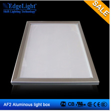 small and big size aluminum profile led light display advertising led display board