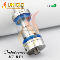 reusable e cigarette ego tank 5ml electronic cigarette glass tank electronic cigarette DIY RTA Indulgence MT-RTA