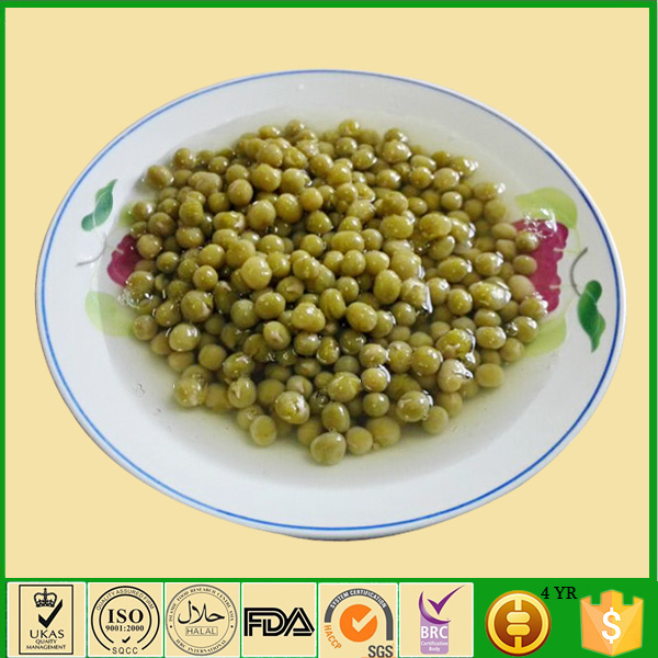 fresh 340g canned green peas in brine easy open canned peas in water