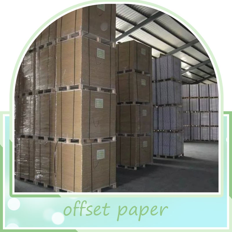 woodfree offset paper / woodfree uncoated paper / offset printing paper